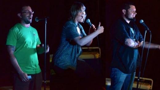 Nik, Amy & Brad